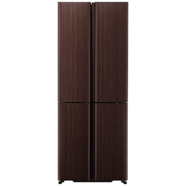 AQUAアクア冷蔵庫TZシリーズダークウッドブラウンAQR-TZ42K-T[4ドア/観音開きタイプ/420L]《基本設置料金セット》