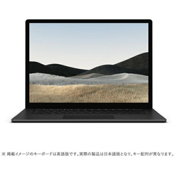 マイクロソフトMicrosoft5W6-00043SurfaceLaptop4(サーフェスラップトップ4)ブラック[15.0型/AMDRyzen7/SSD:512GB/メモリ:8GB/2021年4月モデル]