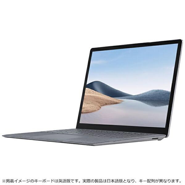 マイクロソフトMicrosoft5BT-00050SurfaceLaptop4(サーフェスラップトップ4)プラチナ[13.5型/intelCorei5/メモリ:8GB/SSD:512GB/2021年4月モデル]【rb_winupg】