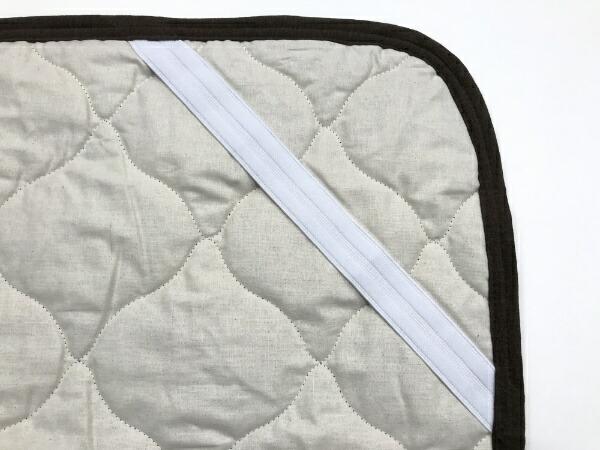 イケヒコIKEHIKO【敷パッド】オーガニックコットン敷パッドマインダブルサイズ(140×205cm/ブラウン)