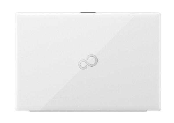 富士通FUJITSUノートパソコンLIFEBOOKAH50/FプレミアムホワイトFMVA500FW1[15.6型/intelCorei7/メモリ:8GB/SSD:256GB/2021年春モデル]【rb_winupg】