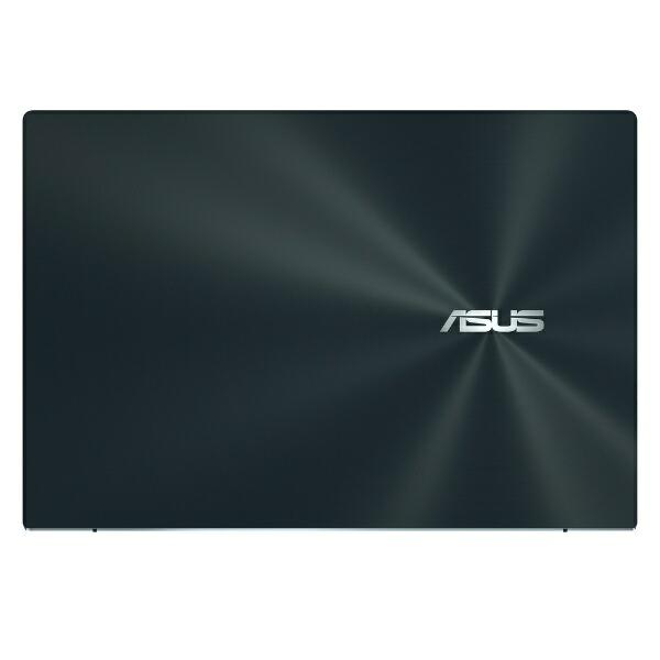 ASUSエイスースノートパソコンZenBookDuo14(2画面タッチパネル)セレスティアルブルーUX482EG-KA146T[14.0型/intelCorei5/メモリ:16GB/SSD:512GB/2021年4月モデル]