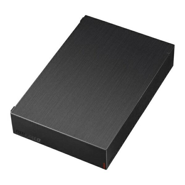 BUFFALOバッファローHD-LE4U3-BB外付けHDDUSB-A接続テレビ・パソコン両対応ブラック[据え置き型/4TB]