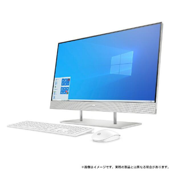 HPエイチピーデスクトップパソコンHP27-dp0000AiO1V7J0AA-AAAB[27型/intelCorei5/メモリ:8GB/HDD:2TB/SSD:512GB/2021年5月モデル]