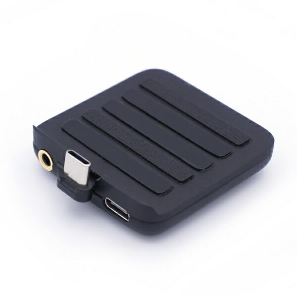 ikkoAudioアイコーオーディオポータブルDACアンプMusicPatchITM05Type-CブラックITM05PatchTypeCBK[DAC機能対応/ハイレゾ対応]