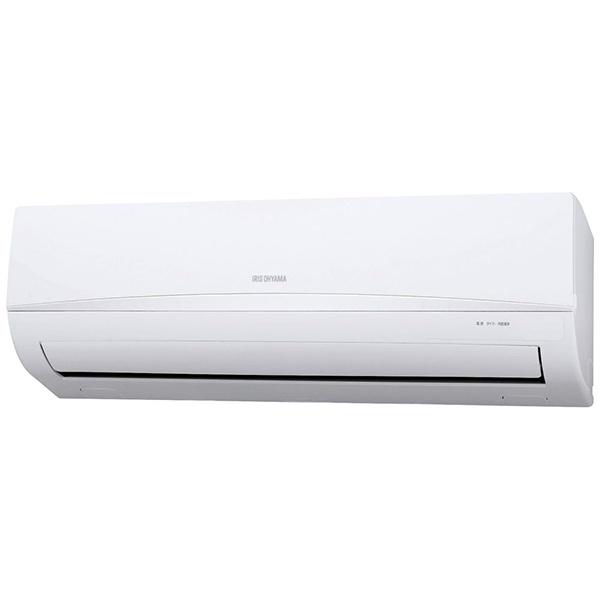 アイリスオーヤマIRISOHYAMA【標準工事費込み】IRR-2221C-Wエアコン2021年airwill(エアウィル)ホワイト[おもに6畳用/100V]