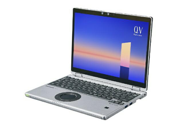 パナソニックPanasonicCF-QV1FDMQRノートパソコンレッツノートQVシリーズブラック&シルバー[12.0型/intelCorei5/メモリ:16GB/SSD:512GB/2021年夏モデル]【rb_winupg】