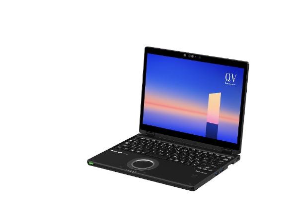 パナソニックPanasonicCF-QV1GFNQRノートパソコンレッツノートQVシリーズ(LTE)ブラック[12.0型/intelCorei7/メモリ:16GB/SSD:512GB/2021年6月モデル]