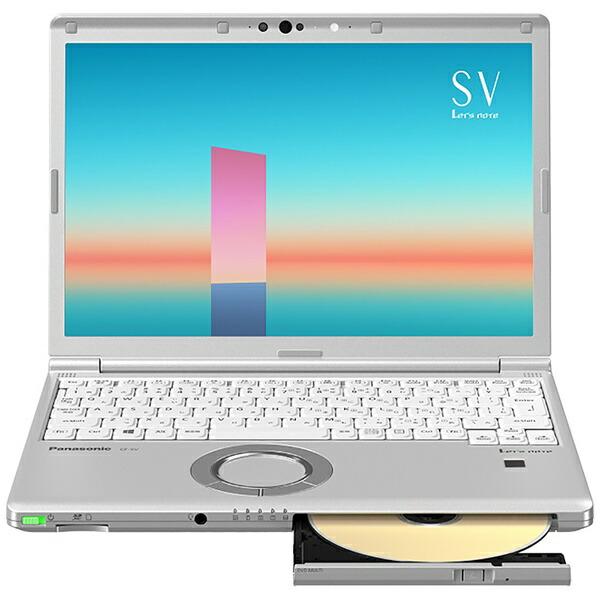パナソニックPanasonicCF-SV1FDSQRノートパソコンレッツノートSVシリーズシルバー[12.1型/intelCorei5/メモリ:8GB/SSD:256GB/2021年6月モデル]【point_rb】