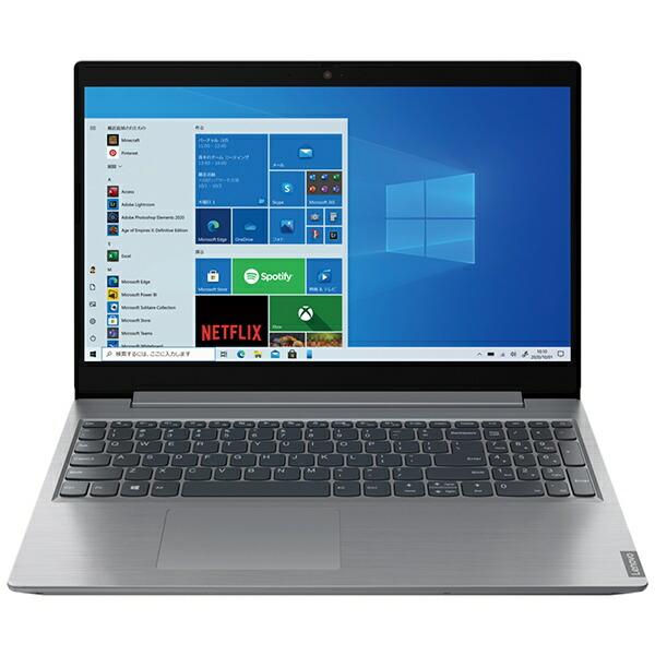 レノボジャパンLenovoノートパソコンIdeaPadL360iブリザードホワイト82HL0093JP[15.6型/intelCeleron/メモリ:4GB/SSD:256GB/2021年6月]