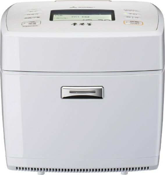 三菱MitsubishiElectric炊飯器本炭釜月白(げっぱく)NJ-VWC10-W[5.5合/IH]