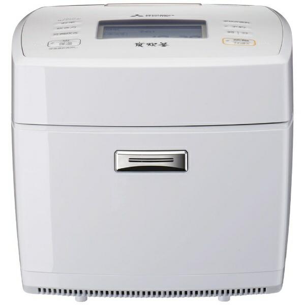 三菱MitsubishiElectric炊飯器炭炊釜月白(げっぱく)NJ-VVC10-W[5.5合/IH]