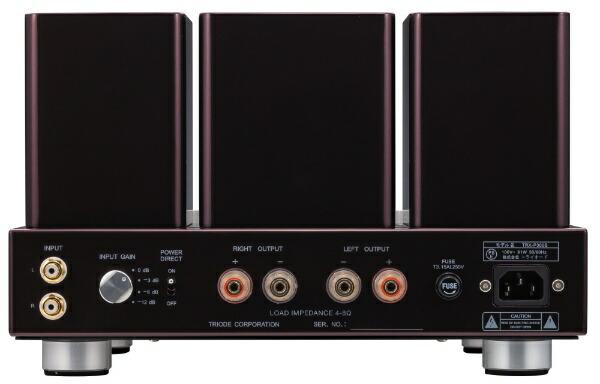 TRIODEトライオード真空管ステレオパワーアンプTRX-P300S[真空管]