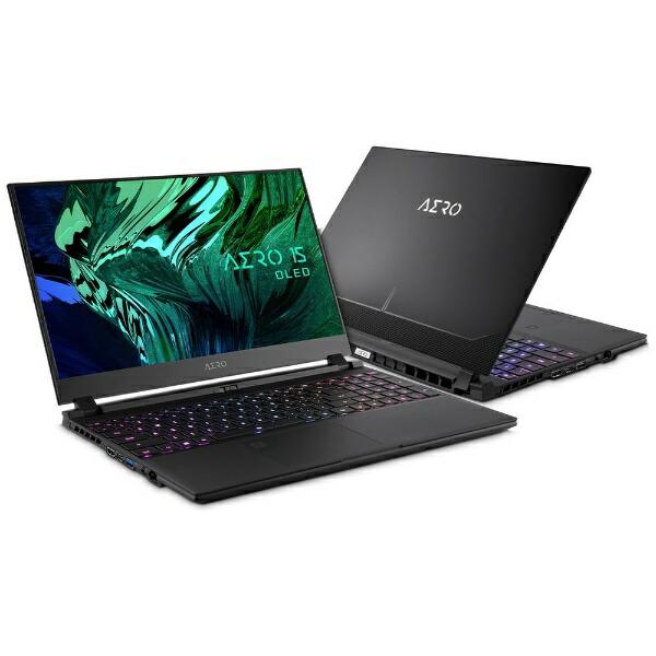 GIGABYTEギガバイトゲーミングノートパソコンAERO15OLED【4K有機EL】XD-73JP644SP[15.6型/intelCorei7/メモリ:32GB/SSD:1TB/2021年6月モデル]