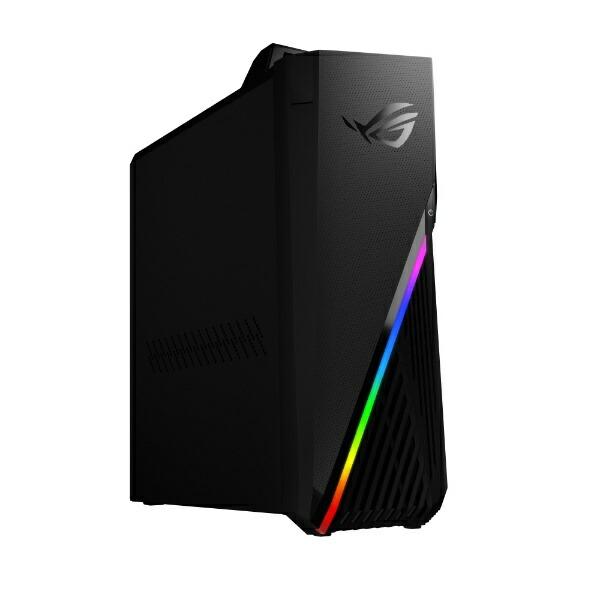 ASUSエイスースゲーミングデスクトップパソコンROGStrixGA15(G15DK)ブラックG15DK-R5G1660SEC[モニター無し/AMDRyzen5/メモリ:16GB/SSD:512GB/2021年7月モデル]