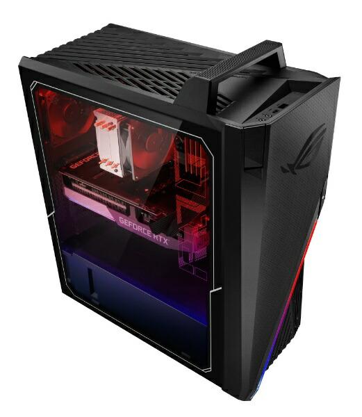 ASUSエイスースゲーミングデスクトップパソコンROGStrixGA15(G15DK)ブラックG15DK-R75R3070E[モニター無し/AMDRyzen7/メモリ:16GB/SSD:512GB/2021年7月モデル]