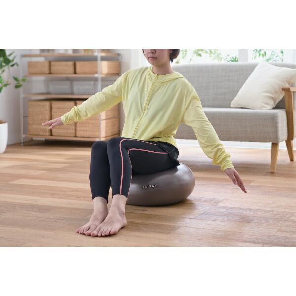 エレコムELECOMドーナツ型バランスボール(直径約45cm/グレー)HCF-BBDMGY