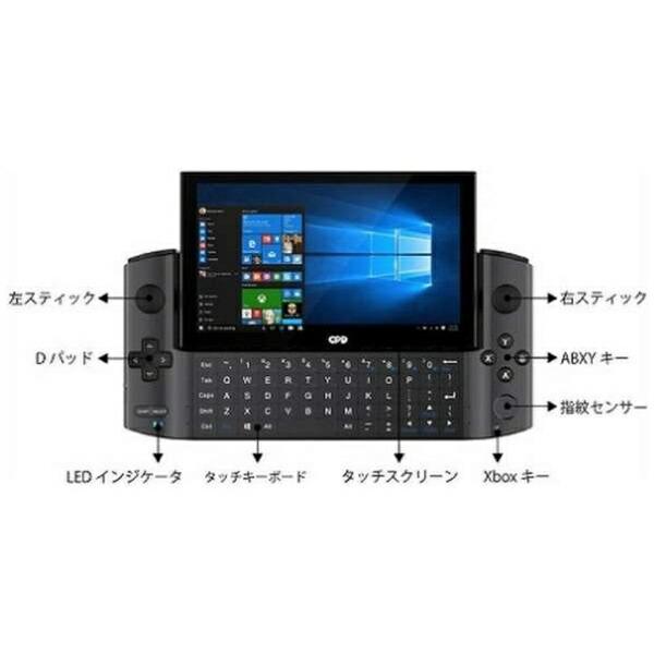 GPDジーピーディーゲーミングノートパソコンWIN3(1135G7Black)ブラック[5.5型/intelCorei5/メモリ:16GB/SSD:1TB/2021年7月モデル]