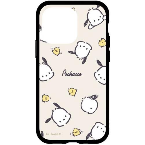 グルマンディーズgourmandiseサンリオキャラクターズIIIIfitiPhone13Pro対応6.1inch3眼ケースポチャッコポチャッコSANG-148PC