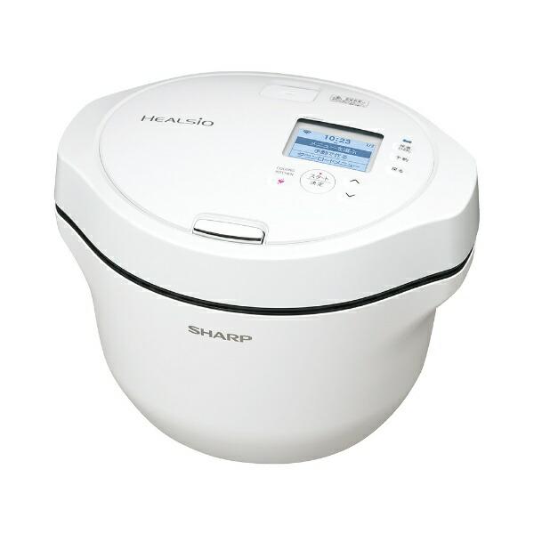 シャープSHARPKN-HW24GW水なし自動調理鍋HEALSIO(ヘルシオ)ホットクックホワイト系【rb_cooking_cpn】
