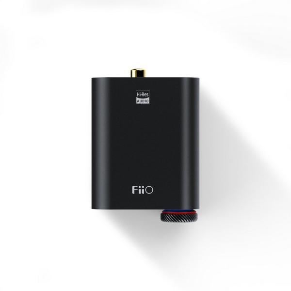 FIIOフィーオヘッドホンアンプブラックFIO-K3ESS-B[ハイレゾ対応/DAC機能対応]