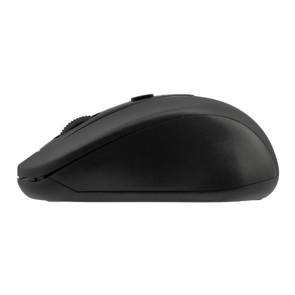 グリーンハウスGREENHOUSEマウスブラックGH-MULQOA-BK[光学式/無線(ワイヤレス)/4ボタン/USB]