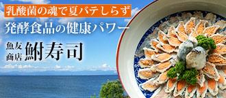 乳酸菌の塊鮒寿司