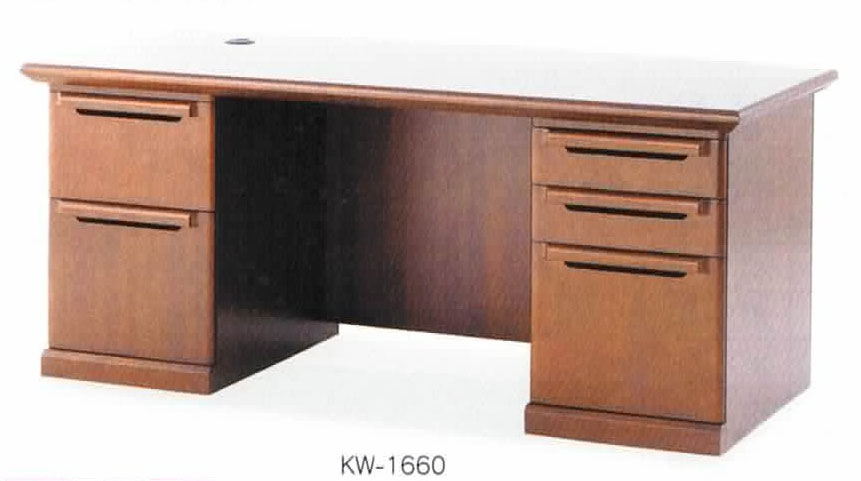 高級両袖デスク KW-1660