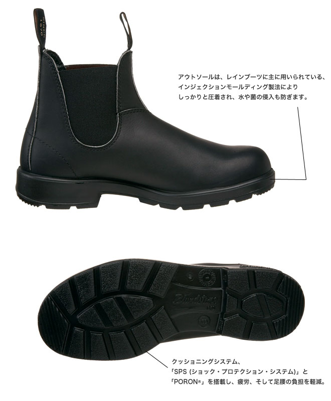 Blundstone's Original Boots were featured in