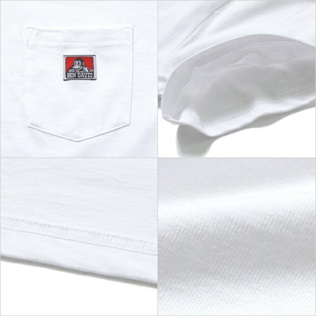 ベンデイビス Tシャツ BEN DAVIS ポケT メンズ ポケット レディース