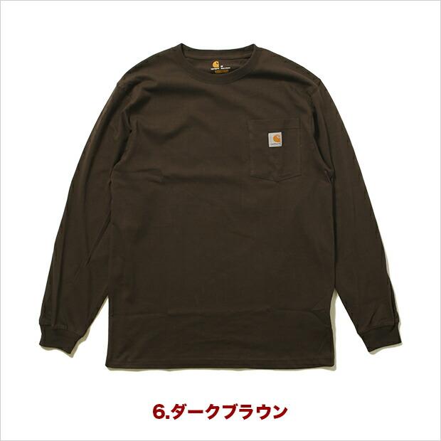 カーハート Tシャツ CARHARTT 長袖 ロンT ロングスリーブ ロゴTシャツ メンズ