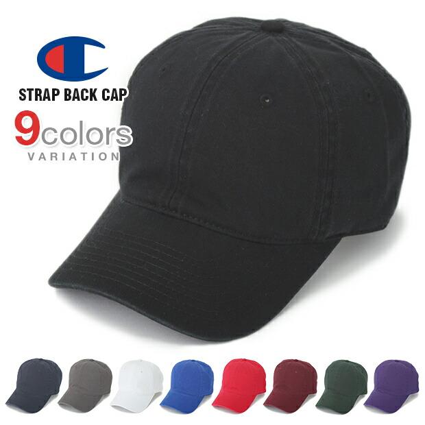チャンピオン キャップ ローキャップ デニム メンズ レディース CHAMPION 帽子 ロークラウン LOW CAP GOLF ゴルフ ストラップバック STRAPBACK WASHED DAD あす楽
