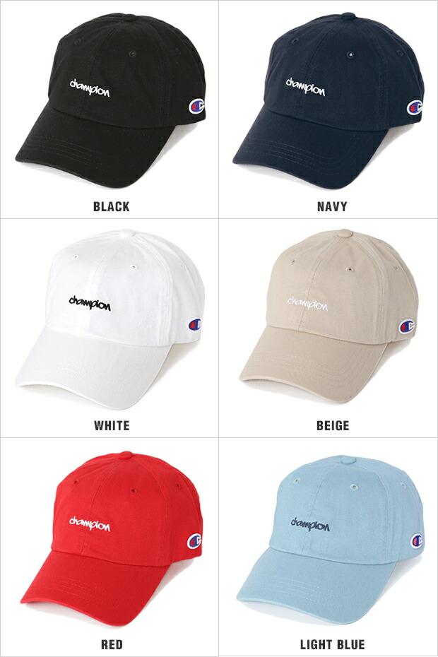 チャンピオン キャップ ローキャップ メンズ レディース CHAMPION 帽子 ロークラウン LOW CAP GOLF ゴルフ ストラップバック STRAPBACK DAD