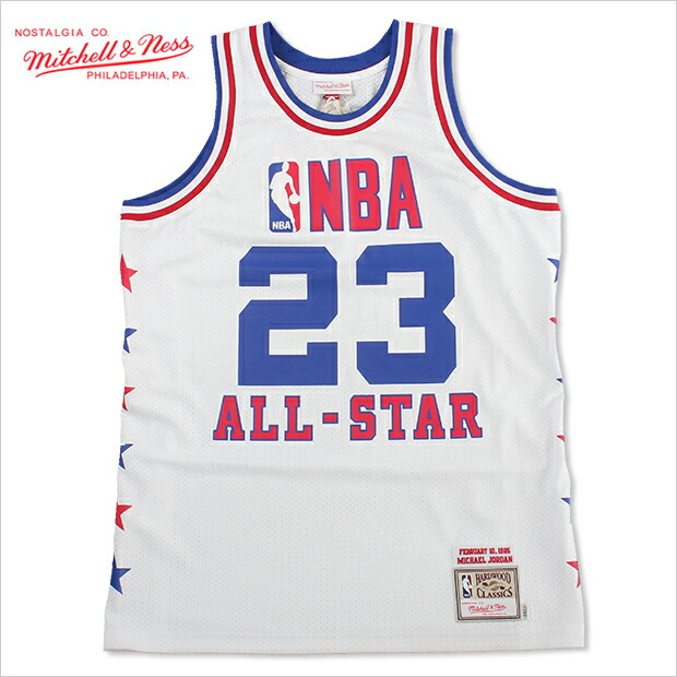 buy popular 79983 bb0f4 MITCHELL &NESS Mitchell & Ness Jersey all-star Jordan basketball jerseys  1985 NBA ALL STAR MICHEAL JORDAN JERSEY