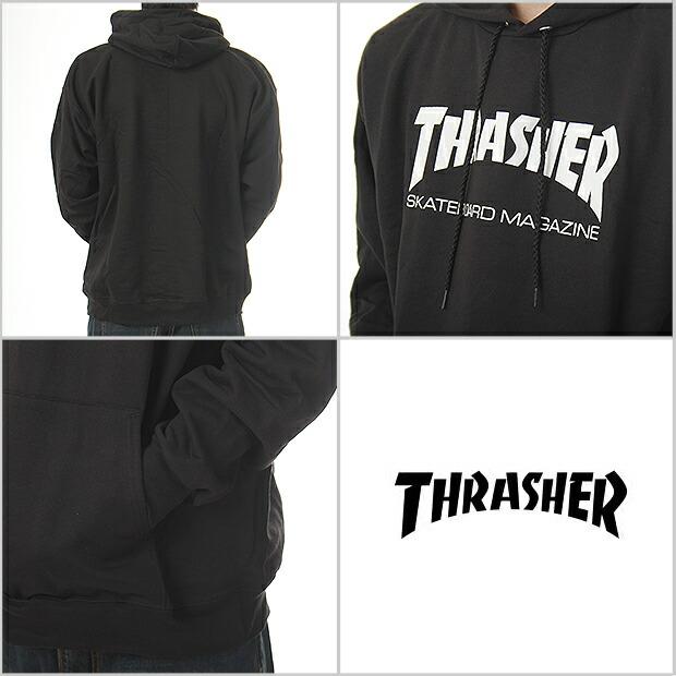 163bca9eb79b Size SKATE MAG THRASHER slasher Hoodie pullover Parker sweatshirts men s  large