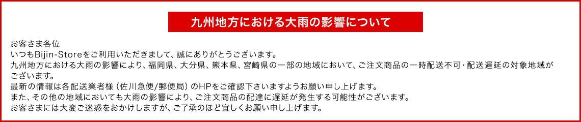 九州地方における大雨の影響について