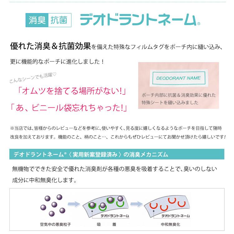 新機能・デオドラント抗菌消臭ネーム