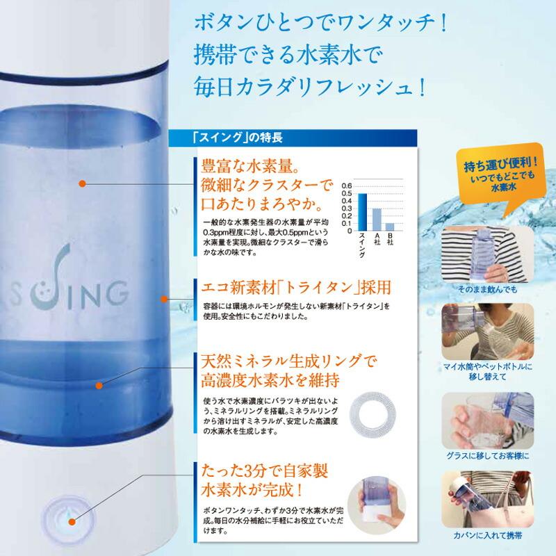 水素水生成器 SUING スイング