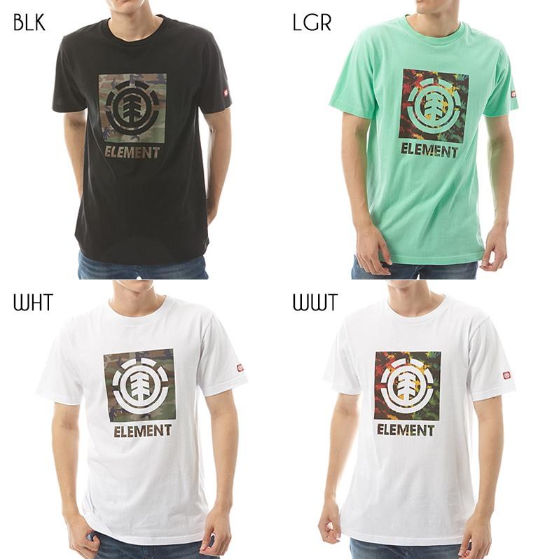 2019 エレメント メンズ  LOGO BLOCK SS Tシャツ