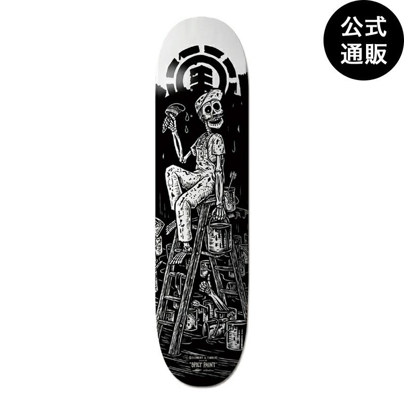 ◆デッキテープ付◆2019 エレメント スケートボード 8.5インチ【TIMBER!】  TIMBER SP BYGONE デッキ