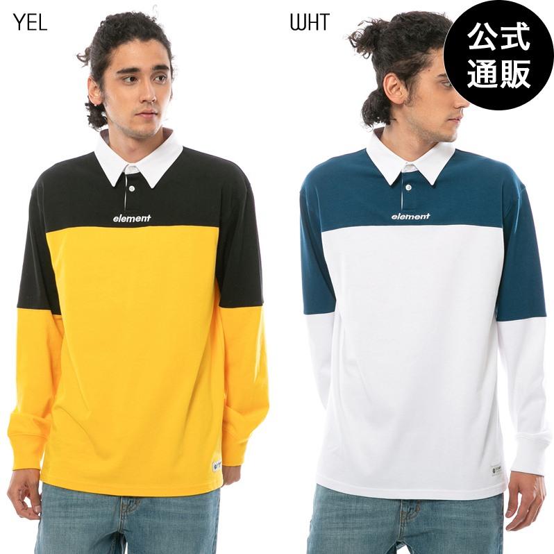 【送料無料】2019 エレメント メンズ TOUGH RUGBY LS ポロシャツ