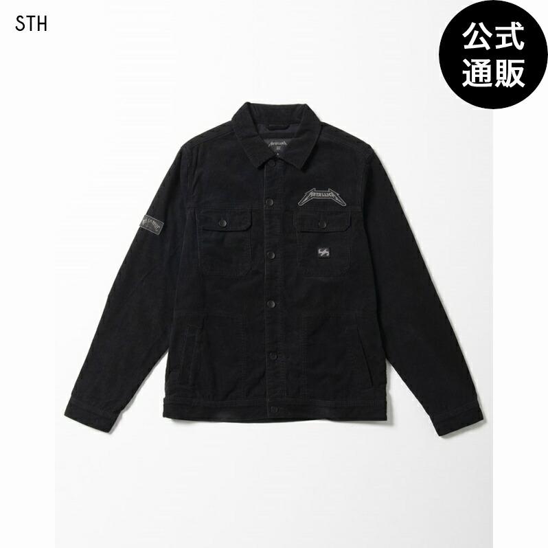 【送料無料】THE BILLABONG メンズ 【METALLICA】 THE BLACK ALBUM JKT ジャケット