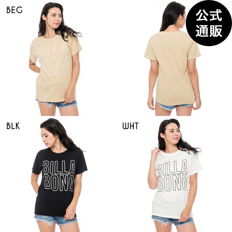 【送料無料】BILLABONG レディース ベーシックロゴTシャツ