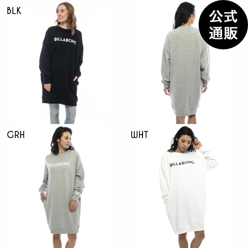 【送料無料】BILLABONG レディース スウェットワンピース