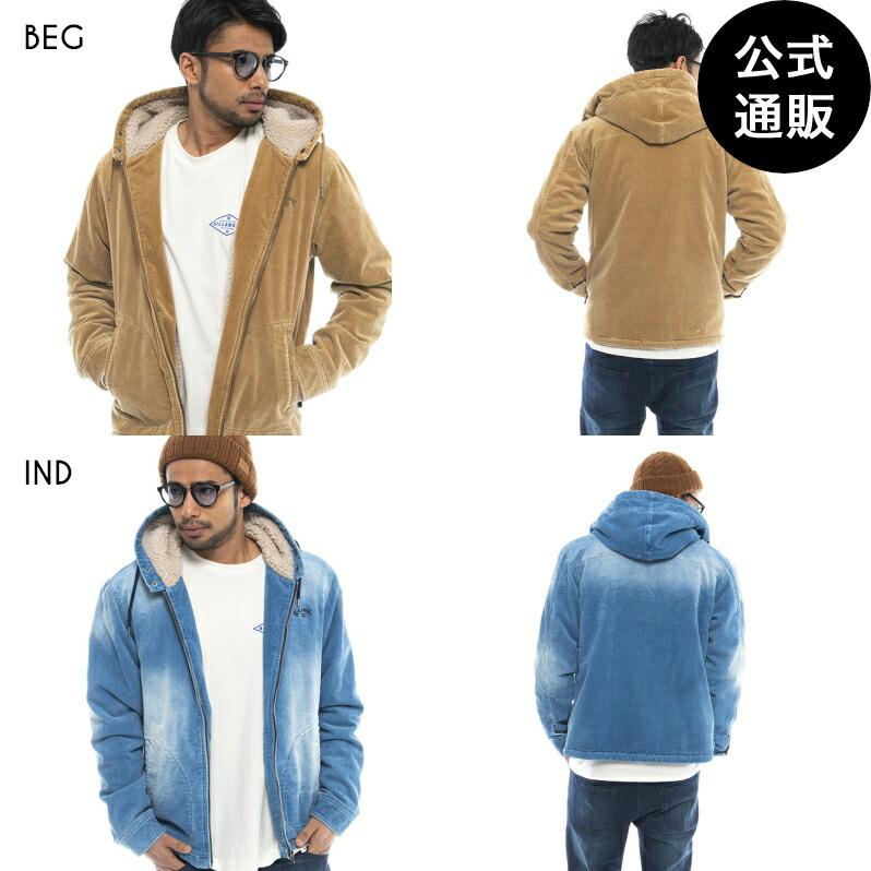 2020 ビラボン メンズ CORDUROY WAVE WASHED ジャケット【2020年秋冬モデル】