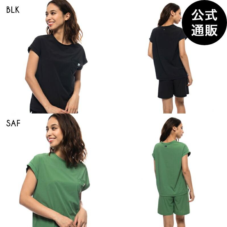 2021 ビラボン レディース 【CHILLWEAR】 DESIGN TEE UVTシャツ 【2021年夏モデル】