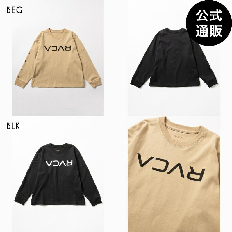 2020 RVCA ルーカ キッズ FLIP 2020 RVCA ルーカ LS ロングスリーブTシャツ【2020年秋冬モデル】