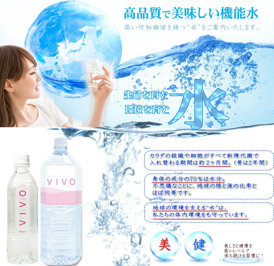 ナノクラスター水VIVO ヴィボは美味しいクラスター水