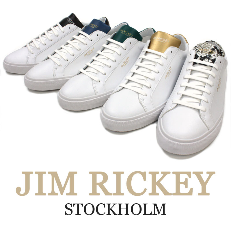 Elegant leather sneakers to send from North Europe JIM RICKEY    gym rickey≫ 825736ed4e2