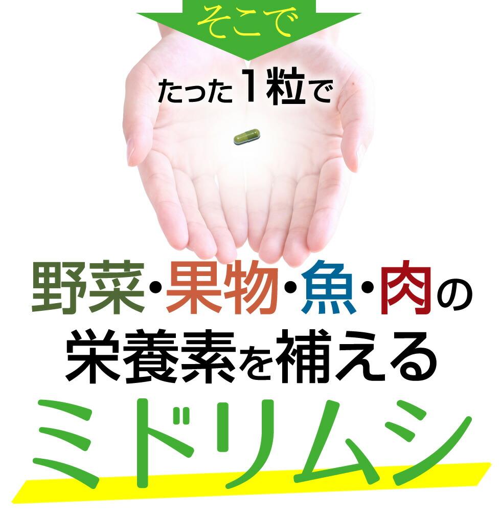 ミドリムシ/ユーグレナ/みどりむし/サプリメント/ミドリムシエメラルド/1本単品